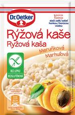 Rýžová kaše Meruňková 52 g