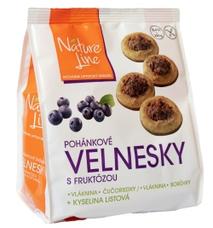 VELNESKY pohánkové sušienky polomáčané 200 g, aj pre diabetikov