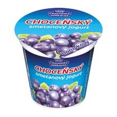 Choceňský smetanový jogurt borůvkový 150 g