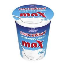 Choceňský MAX Jogurt 10% Bílý 380 g