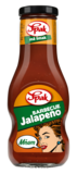 Omáčka BARBECUE Jalapeňo 250 ml
