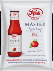 Ketchup MASTER jemný 100 g sáček