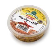 Olomoucké tvarůžky Kousky s chilli 125 g