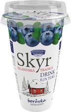 Skyr drink borůvkový 230 g