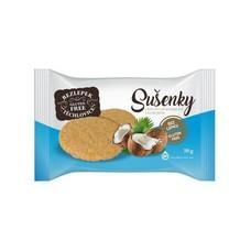 Sušenky jáhlovo-pohankové s kokosem bez lepku 50 g