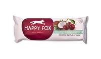 Happy Fox - Kokosová tyčinka s višňami 40 g