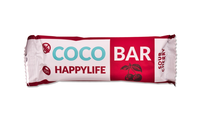 HAPPYLIFE COCO BAR - Kokosová tyčinka s višňami BIO 40 g
