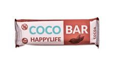HAPPYLIFE COCO BAR - Kokosová tyčinka s kakaom BIO 40 g