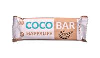 HAPPYLIFE COCO BAR - Kokosová tyčinka s karobom BIO 40 g