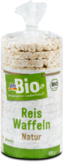 dmBio ryžové chlebíčky Natur 100 g