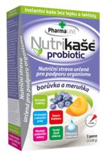 Nutrikaše probiotic meruňka a borůvka 180g (3x60 g)