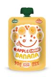 BIO OVKO - Jablko, karotka, banán 100% BIO. 90 g