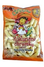 Kukuřičné křupky Nesolené 100 g