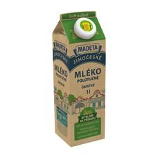 Jihočeské mléko lahodné polotučné 1,5% 1 l