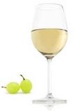 Chardonnay neskorý zber víno polosuché biele
