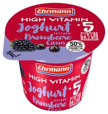 High Vitamín jogurt Blackberry 200 g