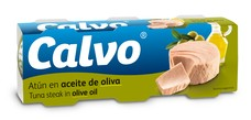 CALVO Tuňák v olivovém oleji 3x80 g