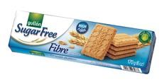GULLÓN Fibre biscuits - Sušenky s vysokým obsahem vlákniny, bez cukru, se sladidly 170 g