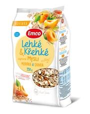 Emco mysli Lehké & Křehké - meruňka a guinoa 550 g