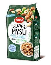 Emco Super mysli bez přidaného cukru ořechy a mandle 500 g