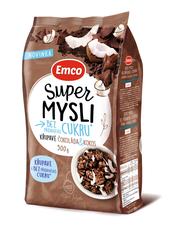 Emco Super mysli bez přidaného cukru čokoláda a kokos 500 g