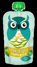 Peek-a-boo Jablko - hruška BIO 113 g