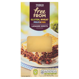 Tesco Free From Lasagne těstoviny sušené bezvaječné 250g