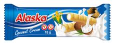 Alaska Kukuričné trubičky s kokosovounáplňou 18 g