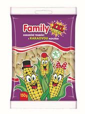 Family pack XXL Kukuričné trubičky s kakaovou náplňou 150 g