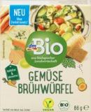 dmBio zeleninový bujón v kocke 66 g