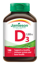 Jamieson Vitamín D3 1000 IU