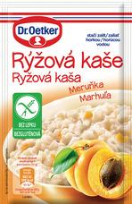 Rýžová kaše Meruňka bez lepku 52 g