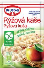 Ryžová kaša Jablká, škorica bezgluténová 52 g