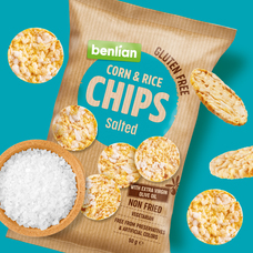 Corn & Rice chips Classic 50 g