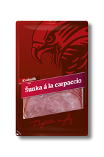 Šunka á la Carpaccio kr. 75 g