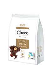 Lískové ořechy v mléčné čokoládě 150 g
