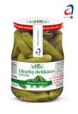 Okurky delikates 5-8 cm 720 ml. Chutné a křupavé!
