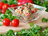 Těstoviny se zeleninou a Šmakounem