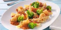 Boloňské mušle s brokolicí a smaženou mozzatellou