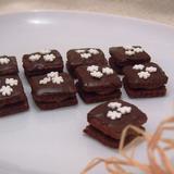 Čokoládové kostky bezlepkové