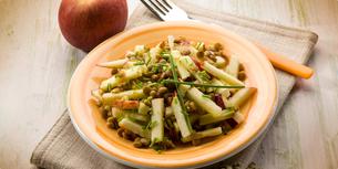 Čočkový salát s jablky