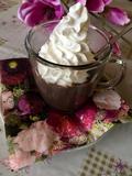 Horká krémová čokoláda z pudingu