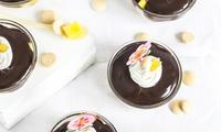 Nepečená rychlovka s mangem a čokoládovým krémem