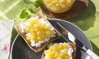 Ananasový džem s vanilkou