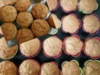Hrníčkové jablečno perníkové muffiny