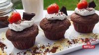Čokoládové muffiny bez lepku