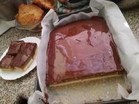 Čokoládovo-jablečný dezert