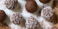 Kokosové kuličky bez lepku