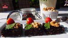 Orechovo mandľové brownies bez lepku