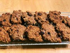 Fitness pohánkové kekse